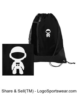 Tres Drawstring Backpack Design Zoom